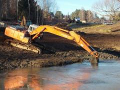 DIGGING AND CLEANING OF RESERVOIRS,PONDS,IRRIGATION CANALS,FARMS RIVERSID