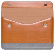 Elite case for laptop MacBook Apple. 100% leather