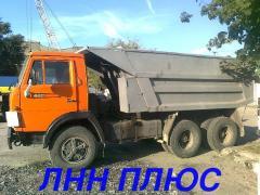 Вывоз мусора ЗИЛ, КАМАЗ